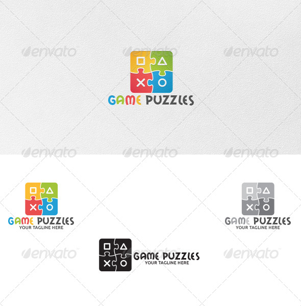 Game Puzzles - Logo Template - Symbols Logo Templates