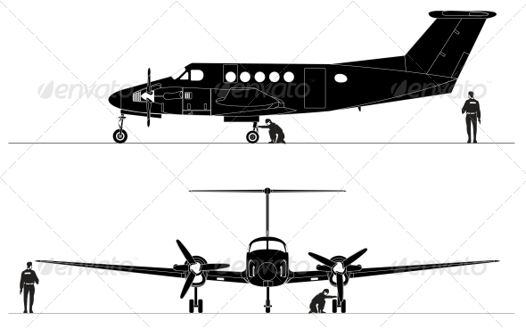 Civil Utility Aircraft - Man-made Objects Objects