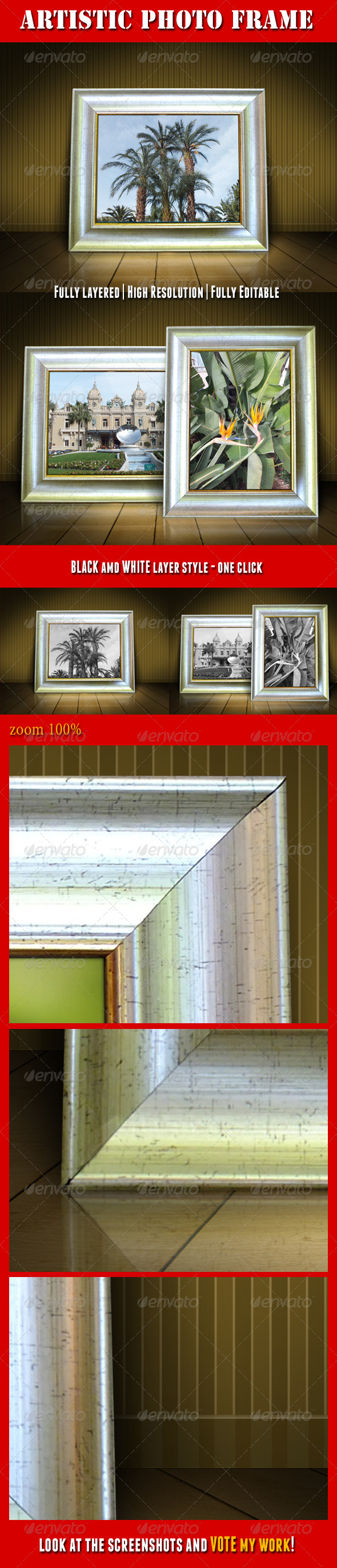 Artistic Photo Frame - Artistic Photo Templates