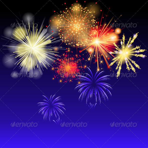 Fireworks - Miscellaneous Vectors