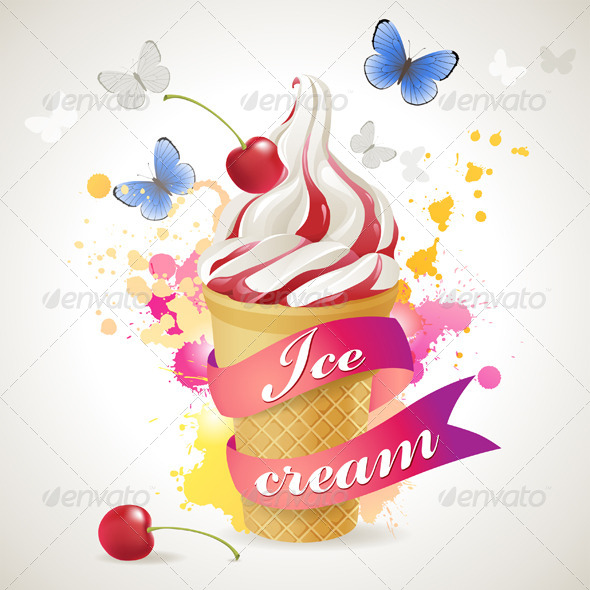 Ice Cream - Food Objects