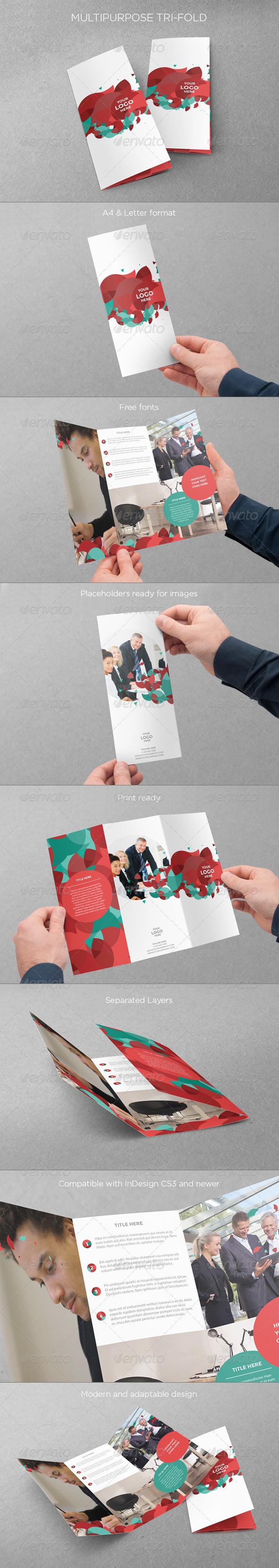 Multipurpose Tri-fold - Informational Brochures