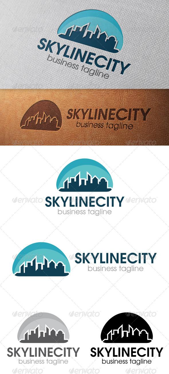 City Skyline Logo Template - Nature Logo Templates