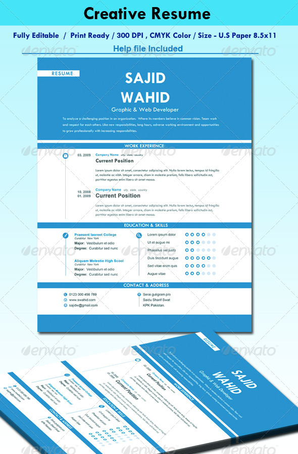 Smart Resume  - Resumes Stationery