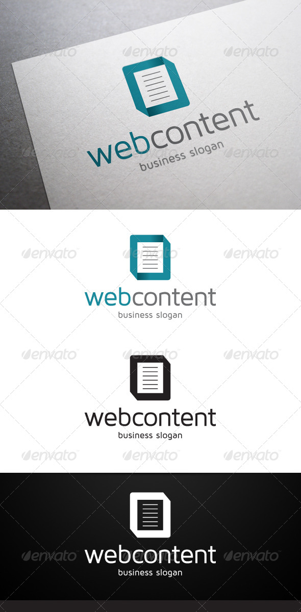 Web Content Logo - Abstract Logo Templates