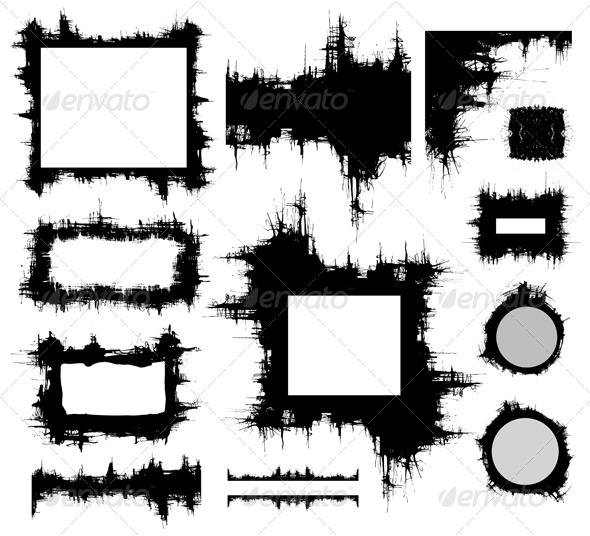 Grungy Design Elements - Abstract Conceptual