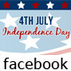 4th of July Independence Day Timeline Cover - GraphicRiver Item for Sale
