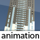 Fully Animated Building Construction - 3DOcean Item for Sale