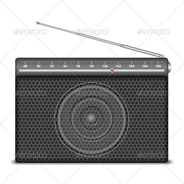 Radio - Objects Vectors