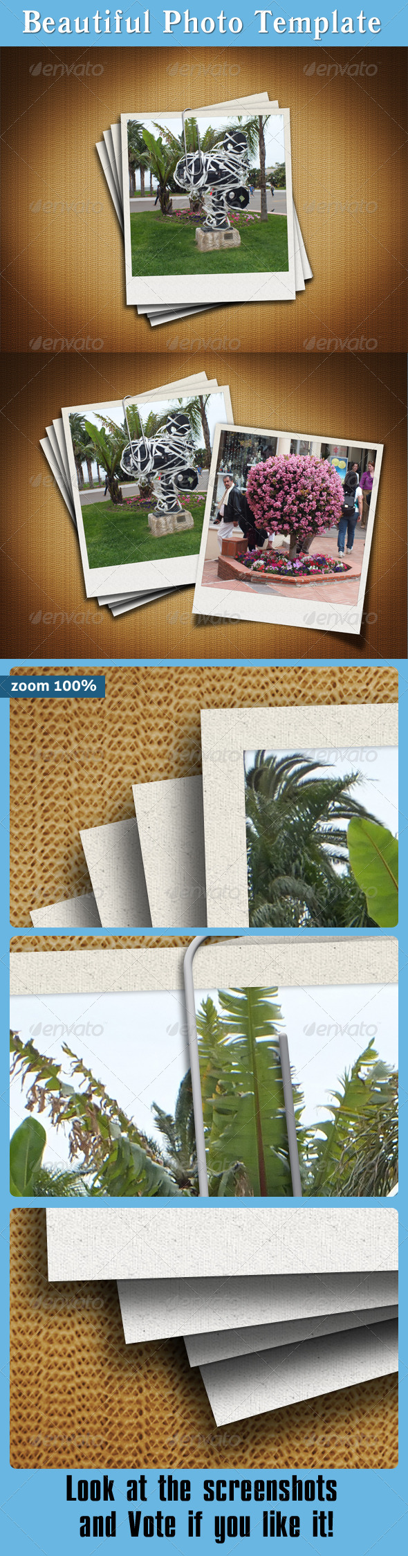 Beautiful Photo Template - Miscellaneous Photo Templates