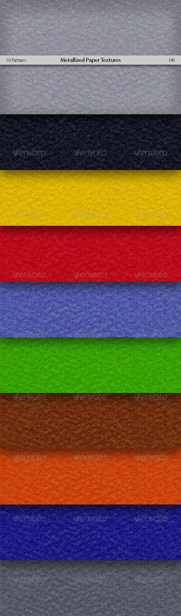Metallized Colored Paper Texture - Paper Textures
