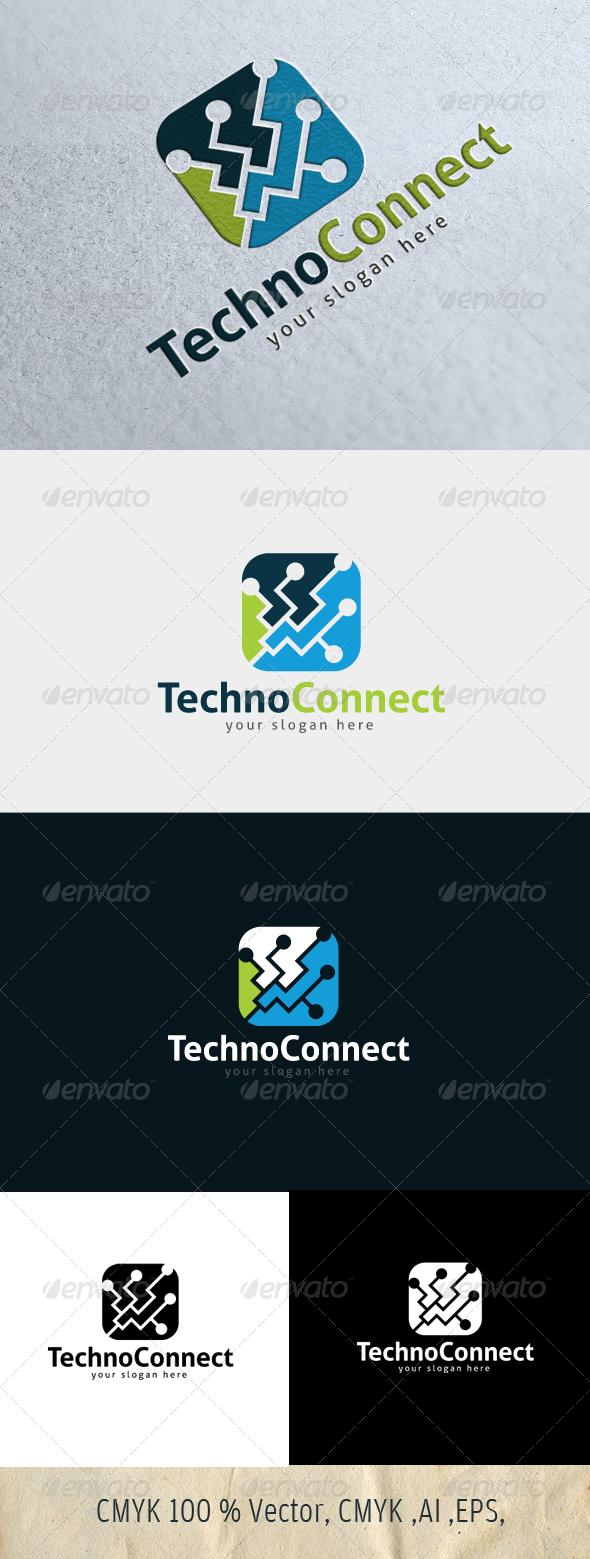 TechnoConnect - Symbols Logo Templates