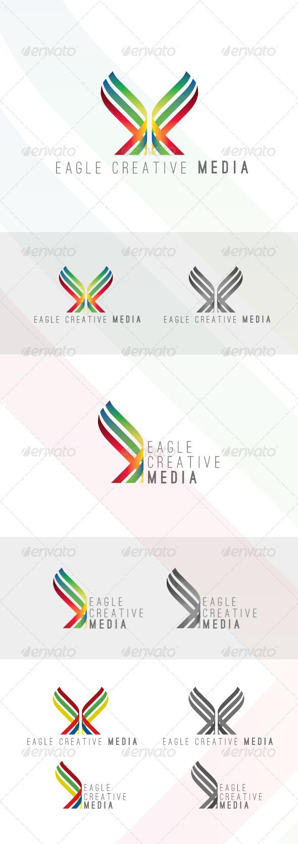 Eagle Creative Media Logo - Logo Templates