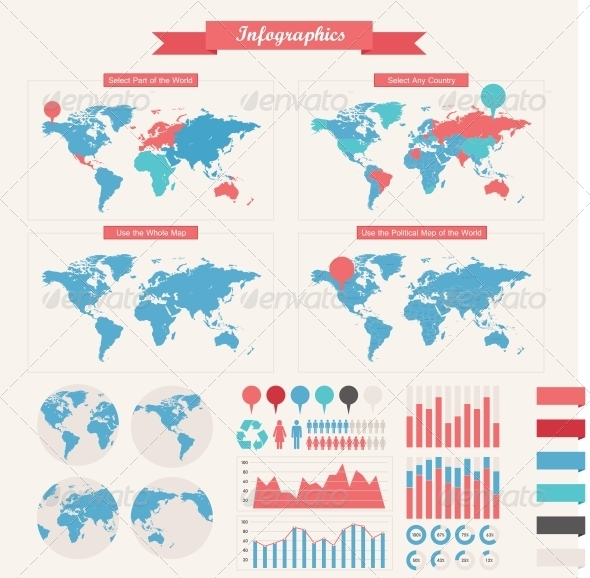 Infographic Elements - Concepts Business