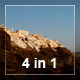 Santorini Descent To The Sea (4-In-1) - VideoHive Item for Sale