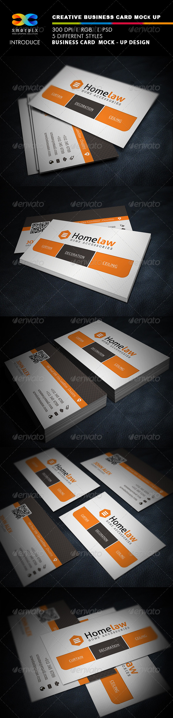 Realistic business card mock up by axnorpix graphicriver realistic business card mock up business cards print reheart Gallery