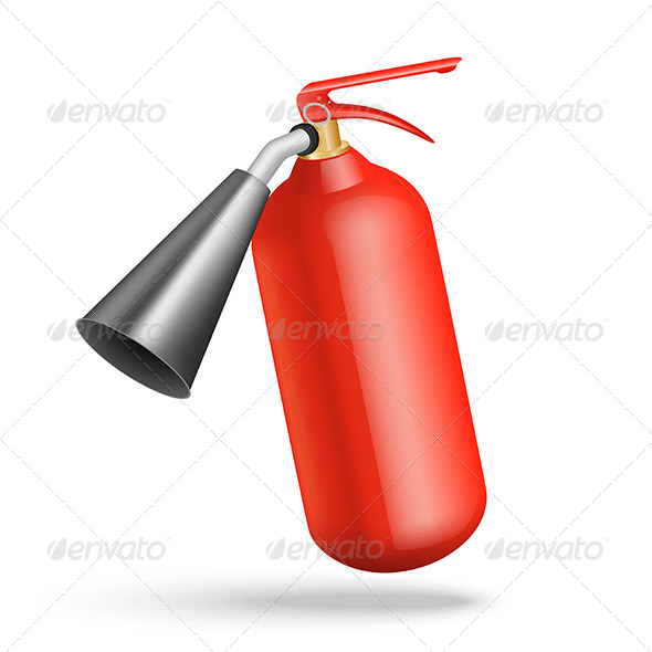 Fire Extinguisher - Man-made Objects Objects