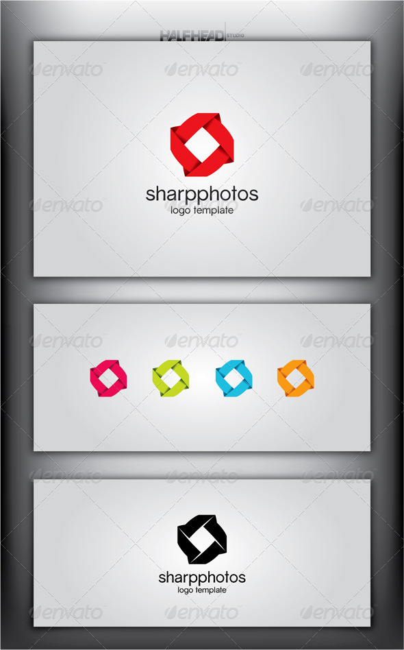 SharpPhotos Logo Template - Objects Logo Templates