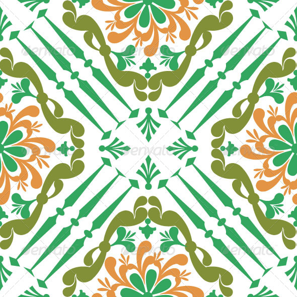 Pattern Classic Vector 04 - Patterns Decorative