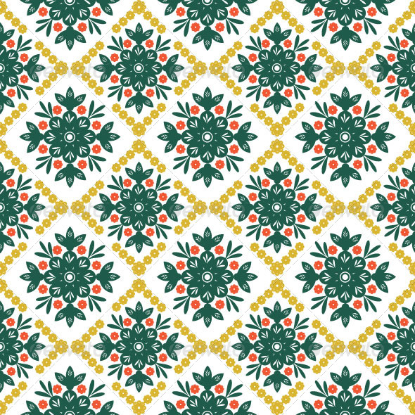 Seamless Classic Pattern 08 - Patterns Decorative