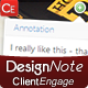 Design Note - Easy Client Feedback on Your Designs
