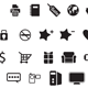 50 Web Icons Custom Shape Set
