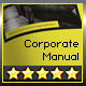 Corporate Design Manual Guide DIN A4 // 34 Pages - GraphicRiver Item for Sale