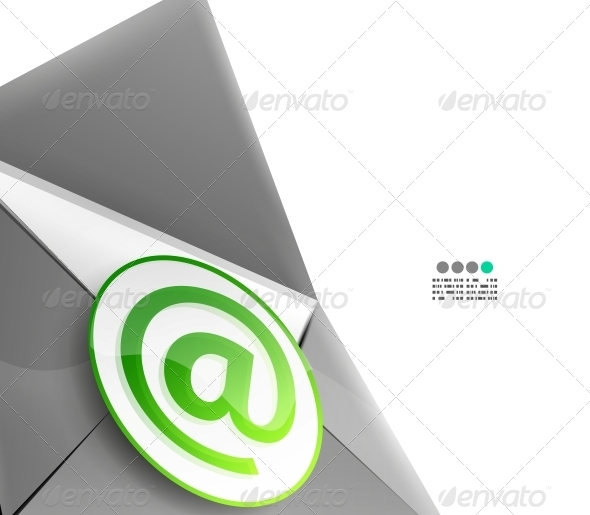 Email Internet Vector Background - Backgrounds Decorative
