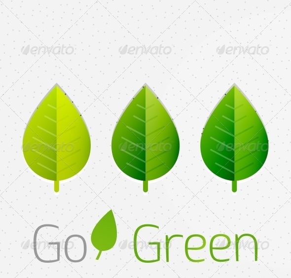Spring / Summer Green Leaves Nature Background - Flowers & Plants Nature