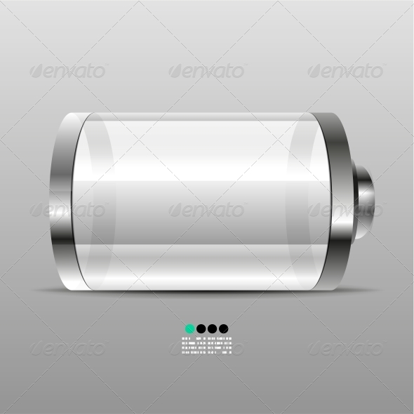 Battery Icon Design Template - Backgrounds Decorative