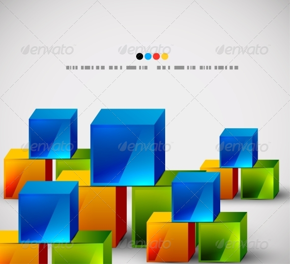 Abstract Square Banners - Backgrounds Decorative