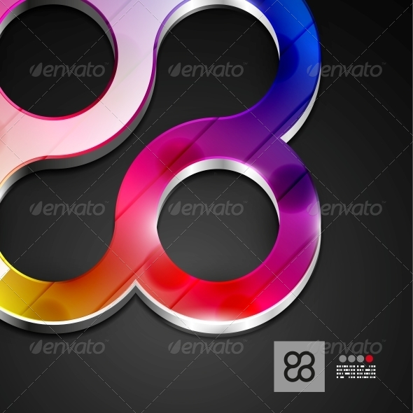 Abstract 3D Geometrical Design - Backgrounds Decorative