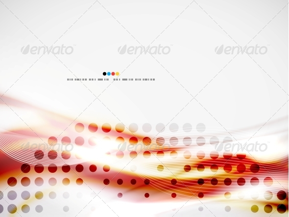 Wave Abstract Design Template - Miscellaneous Conceptual