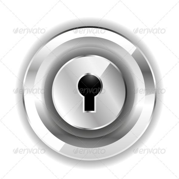 Lock Icon - Web Technology