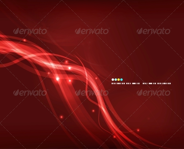 Abstract Glowing Lines - Miscellaneous Vectors