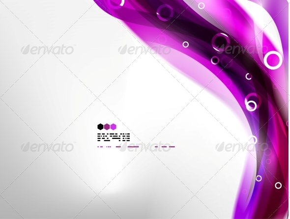 Purple Abstract Background - Web Technology