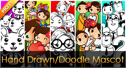 Hand Drawn/Doodle Mascot Design