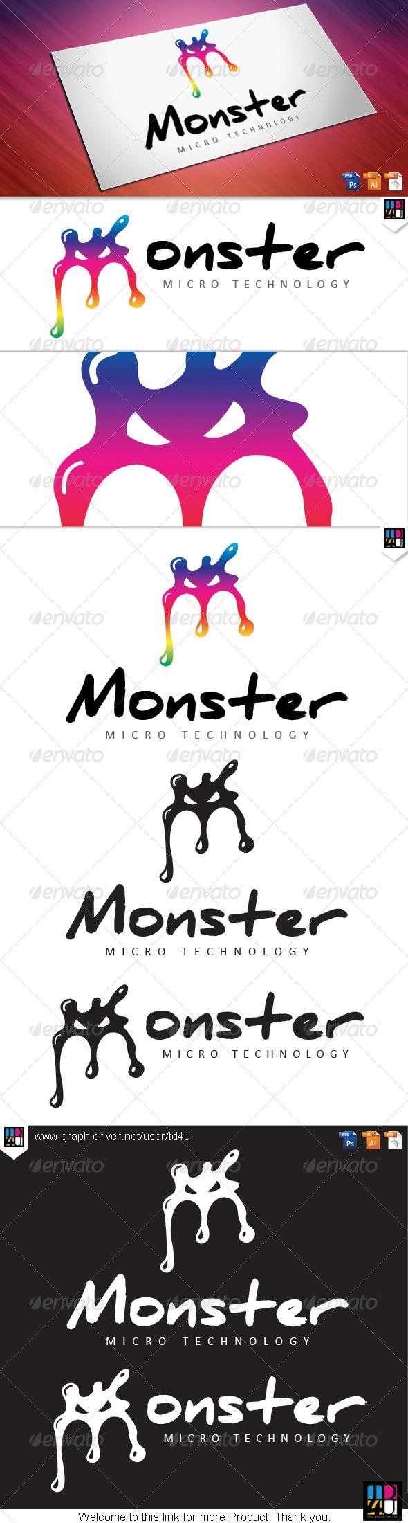 Monster  - Letters Logo Templates
