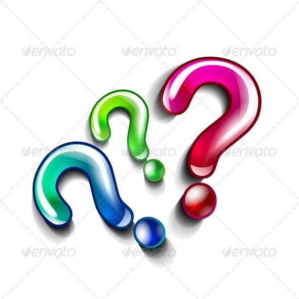 Question Concept Vector - Backgrounds Decorative