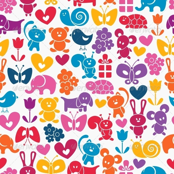 Baby Seamless Wallpaper - Patterns Decorative