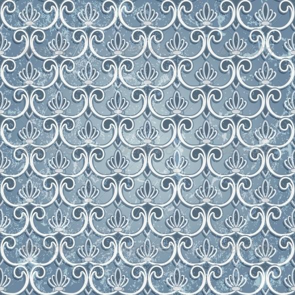 Blue Seamless Wallpaper - Patterns Decorative