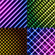 Set of Customized Abstract Striped Backgrounds - GraphicRiver Item for Sale