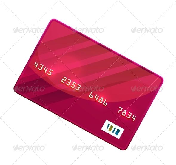 Color Credit Card Vector - Miscellaneous Conceptual
