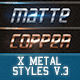 X Metal Styles V.3 - GraphicRiver Item for Sale