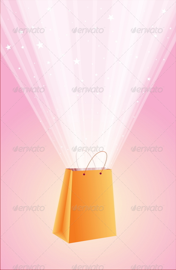 Shopping Bag - Backgrounds Decorative