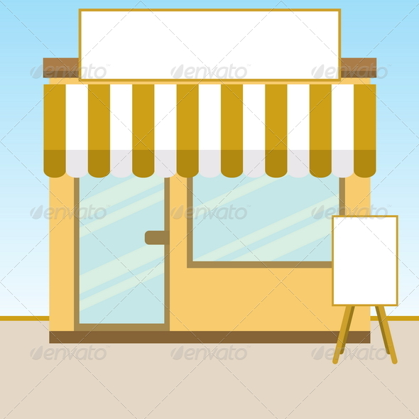 Store - Backgrounds Business