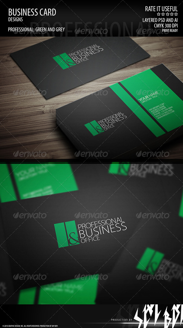 Business Card 002 - Corporate Business Cards