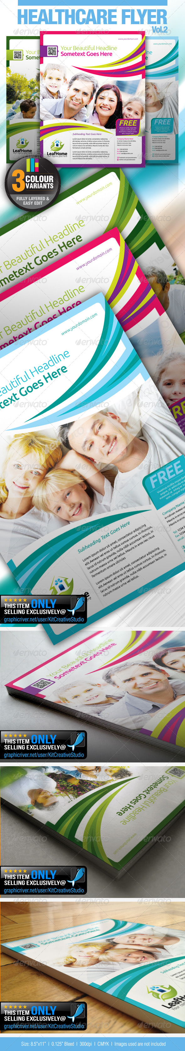 Healthcare Flyer Vol.2 - Corporate Flyers