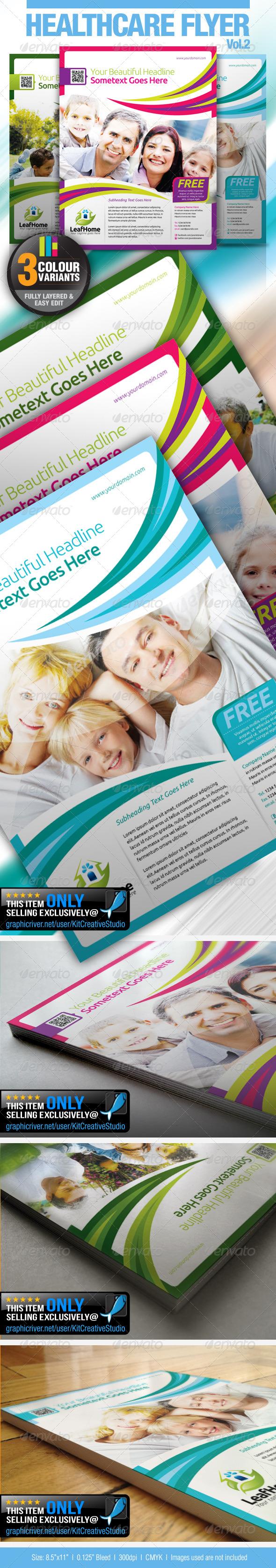 Healthcare Flyer Vol.2 - Corporate Flyers