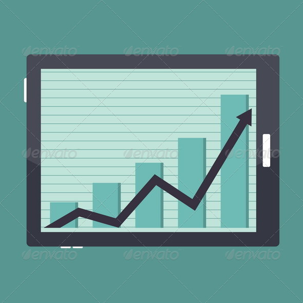 Business Tablet Success Graphic - Concepts Business